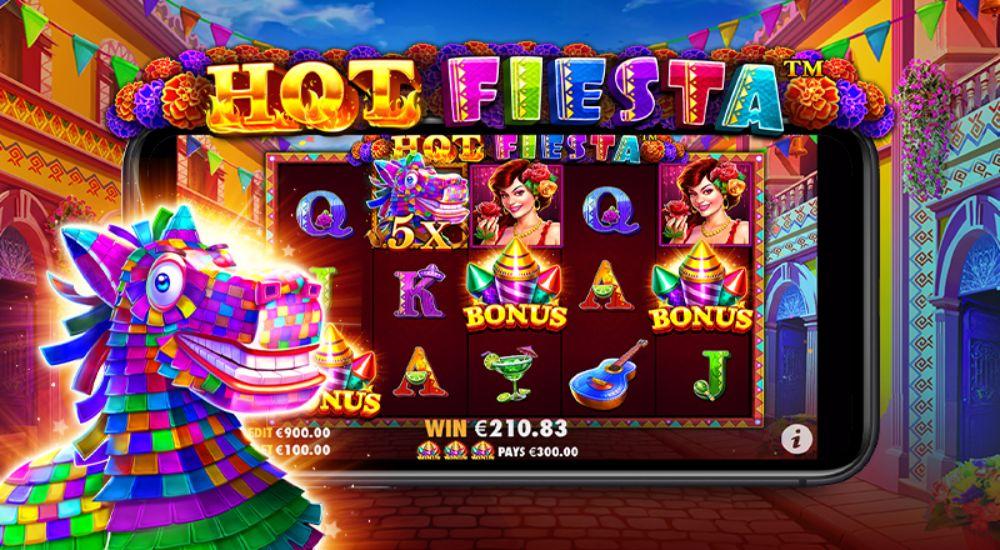 hot fiesta slot by pragmatic play