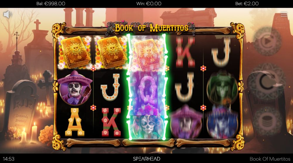 book of muertitios slot by microgaming