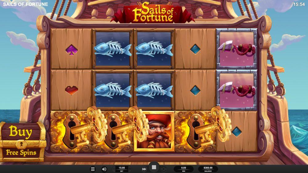 sails of fortunes slot