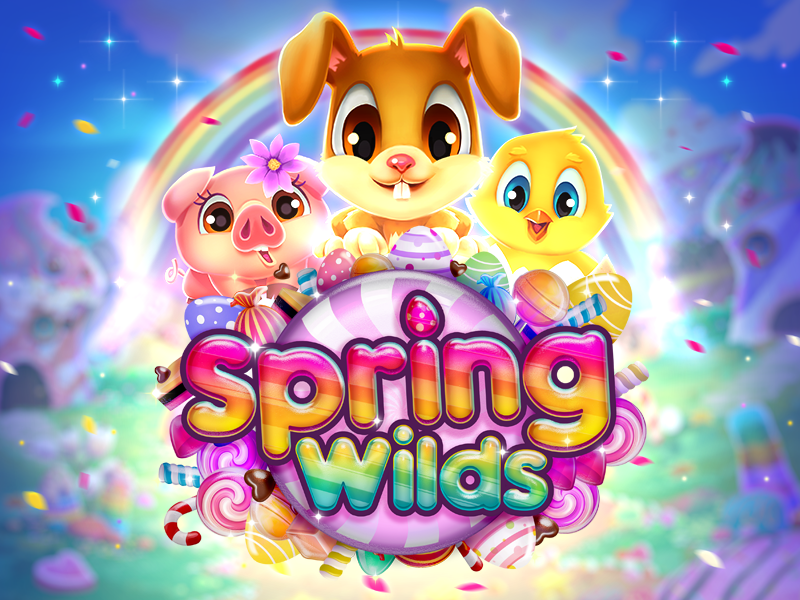 spring wilds slot by rtg
