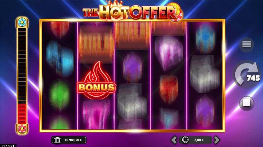 the hot offer slot by yggdrasil