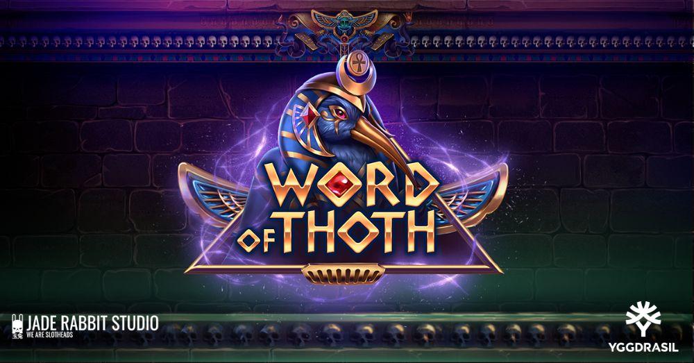 word o9f thoth slot by yggdrasil