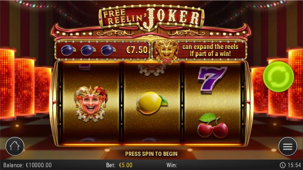 Free Reelin joker slot by play n go