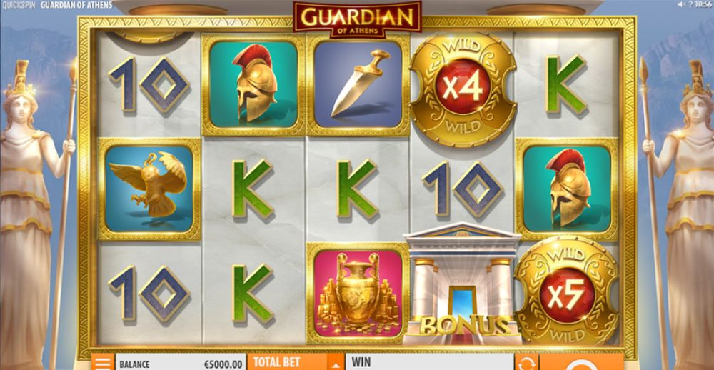 Guardian of Athens slot by quickspin