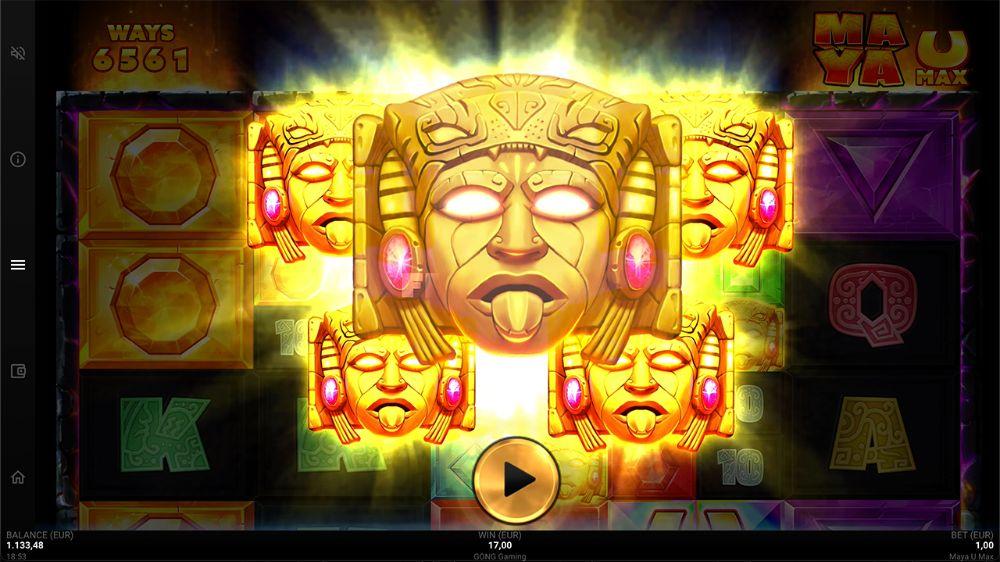 Maya U Max Slot by microgaming
