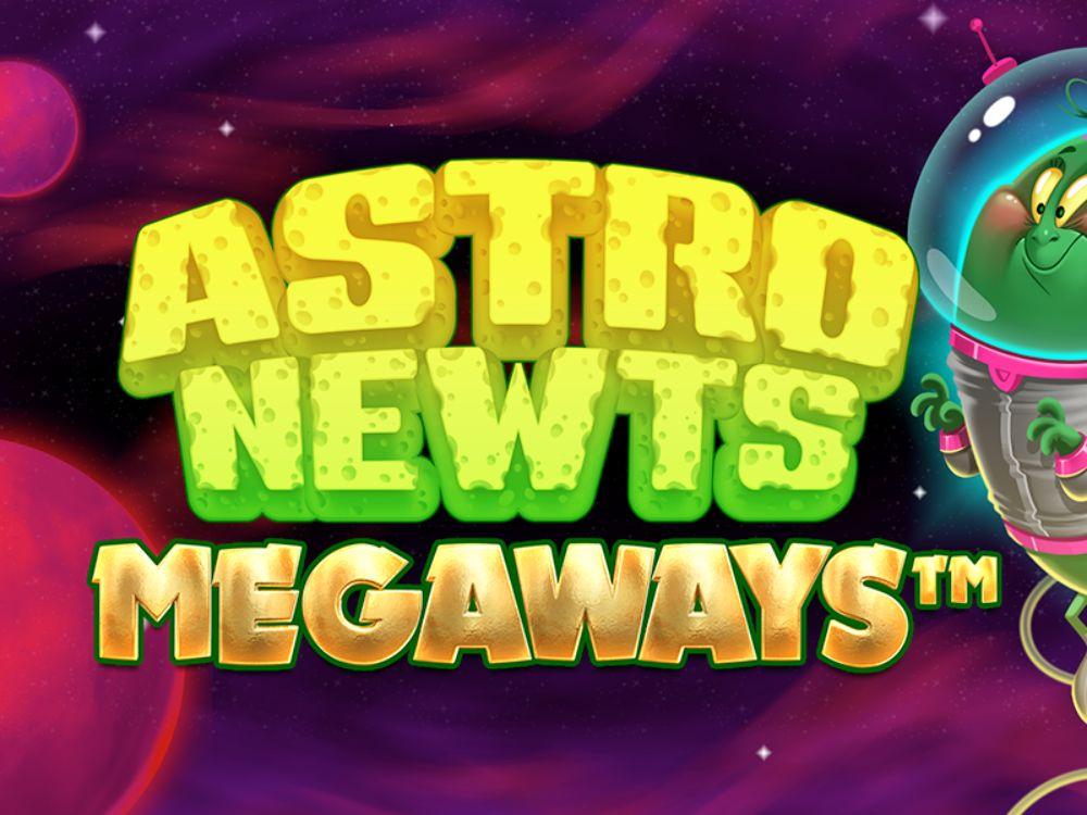astro newts megaways slot by iron dog studios