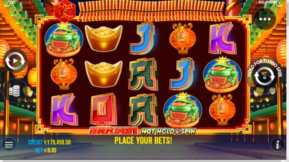 dragon hold and spin slot by pragmatic play