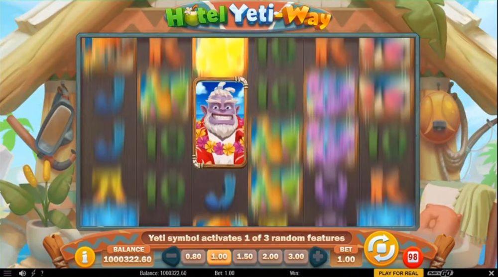 hotel yeti-way slot by play n go