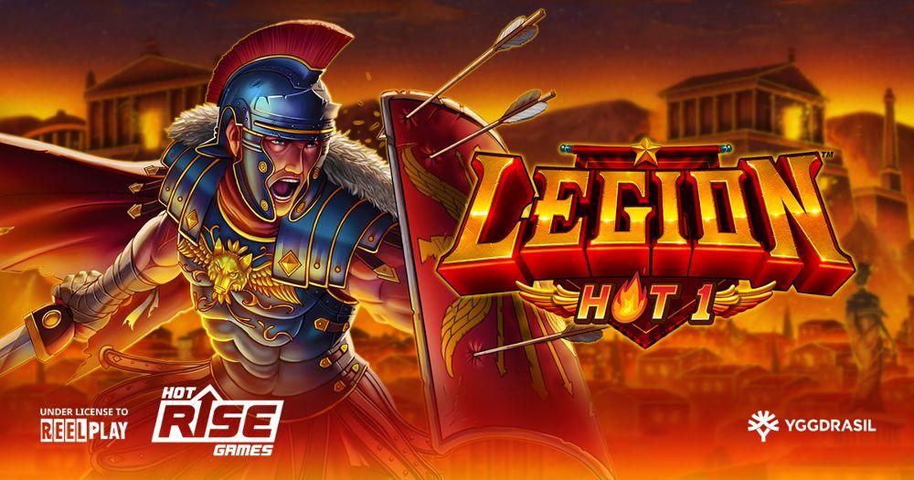 legion hot 1 slot by yggdrasil
