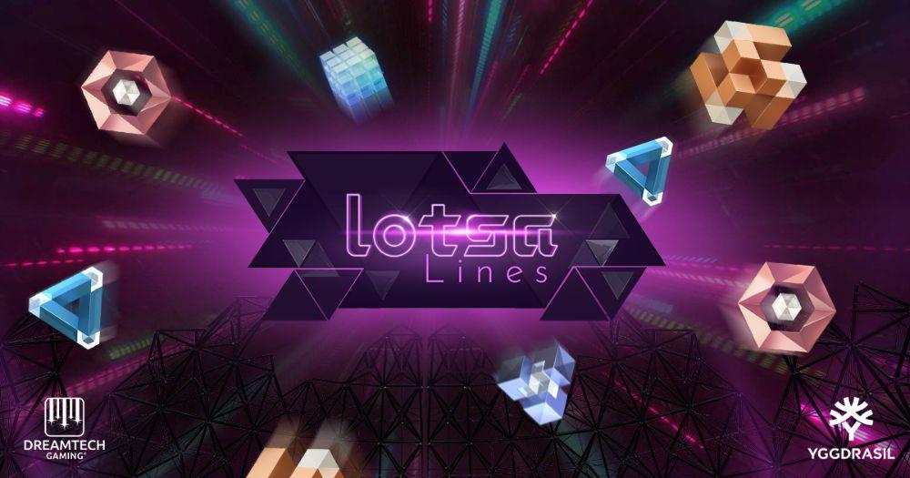 lotsa lines slot by yggdrasil