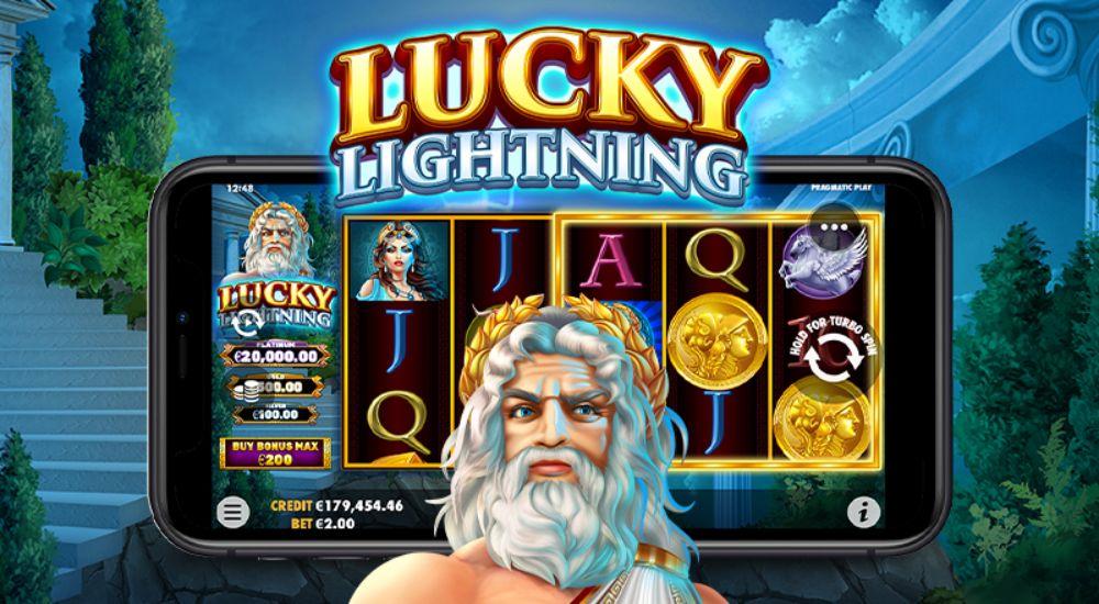 lucky lightning slot by pragmatic play