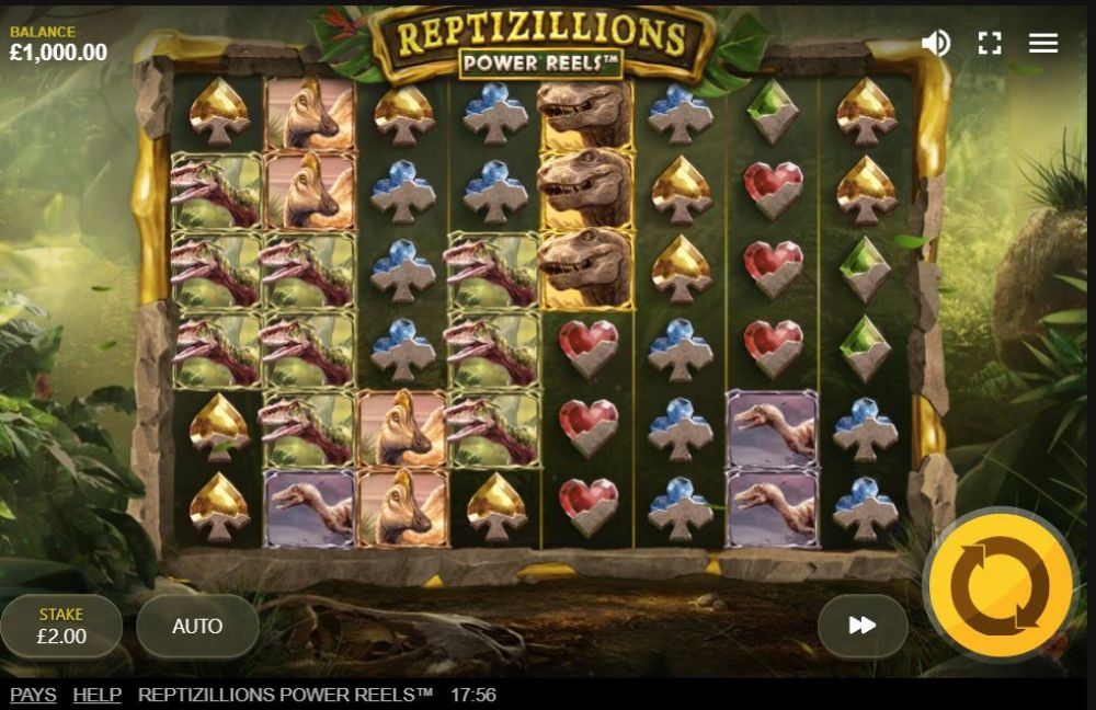 reptizillions slot by red tiger gaming