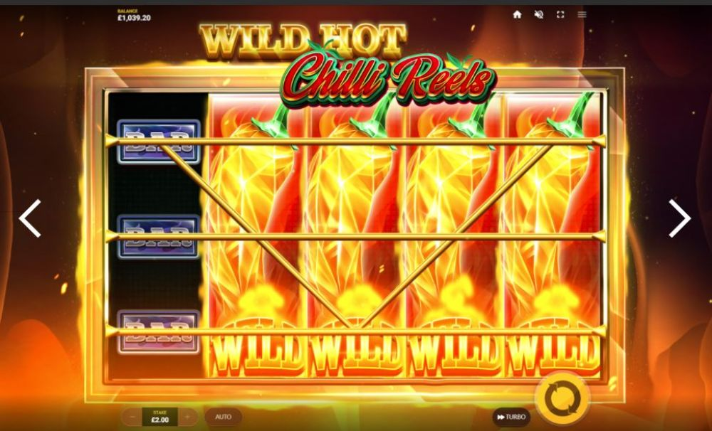 wild got chilli reels slot by red tiger gaming