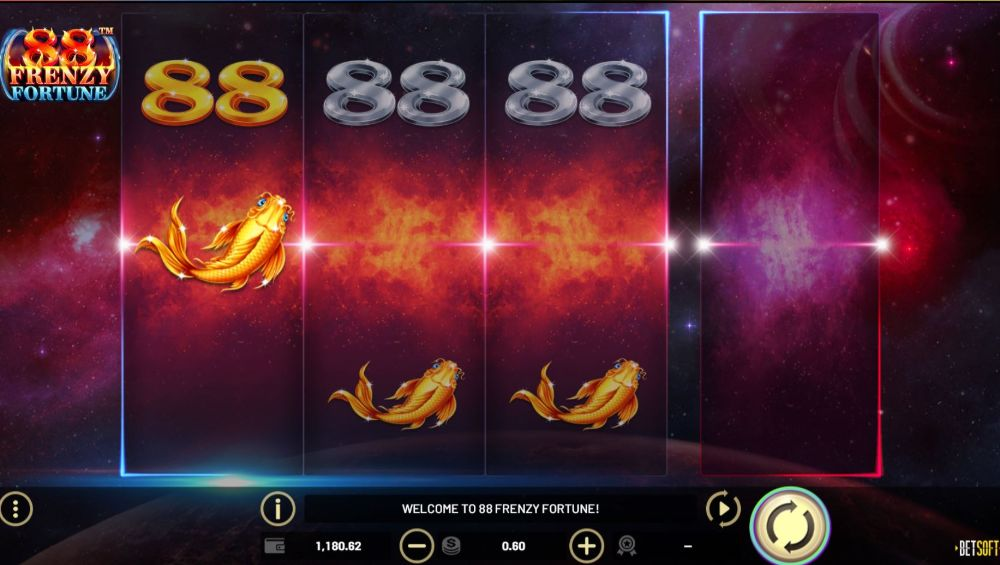 88 frenzy fortune slot by betsoft