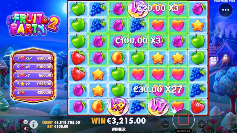 fruit party 2 slot by pragmatic play