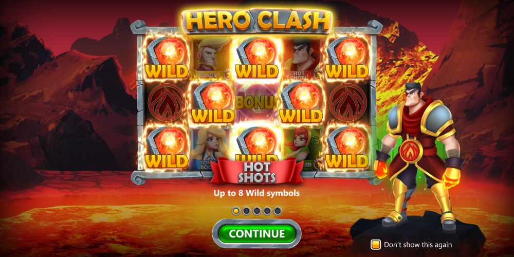hero clash slot by stake logic