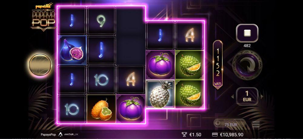 papayapop slot by yggdrasil