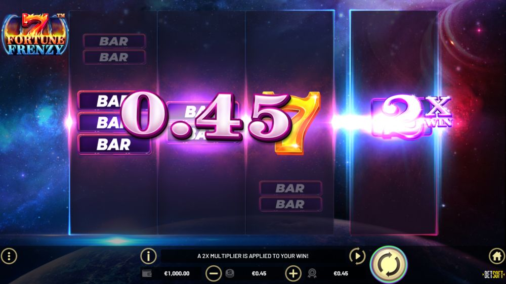 7 fortune frenzy slot by betsoft