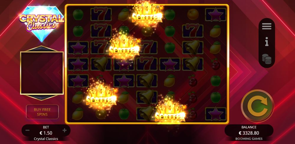 Crystal Classics Slot By Booming Games