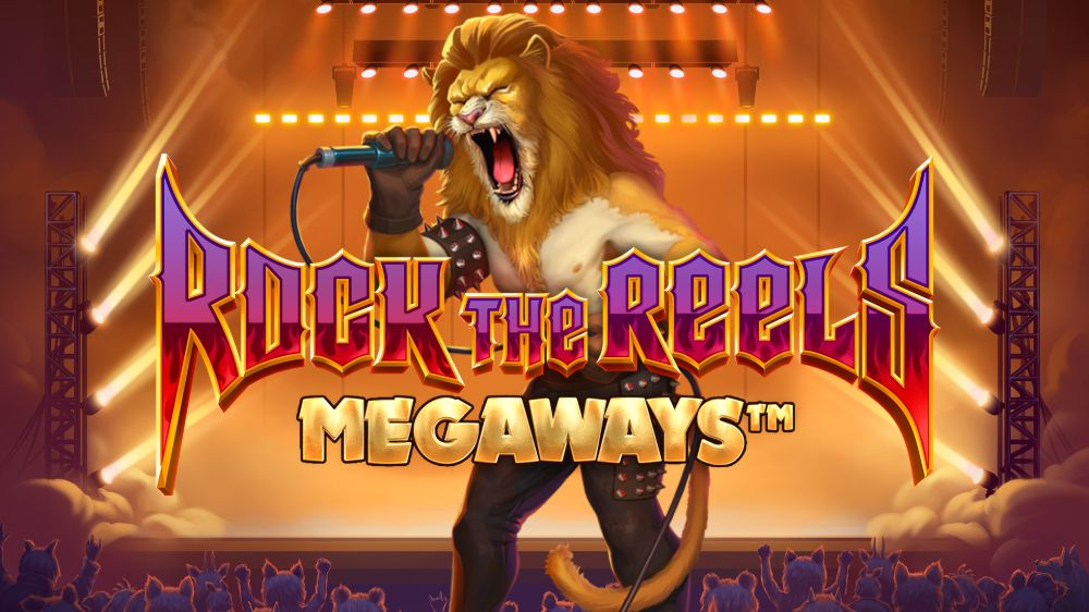 rock the reels megaways slto by iron dog studios