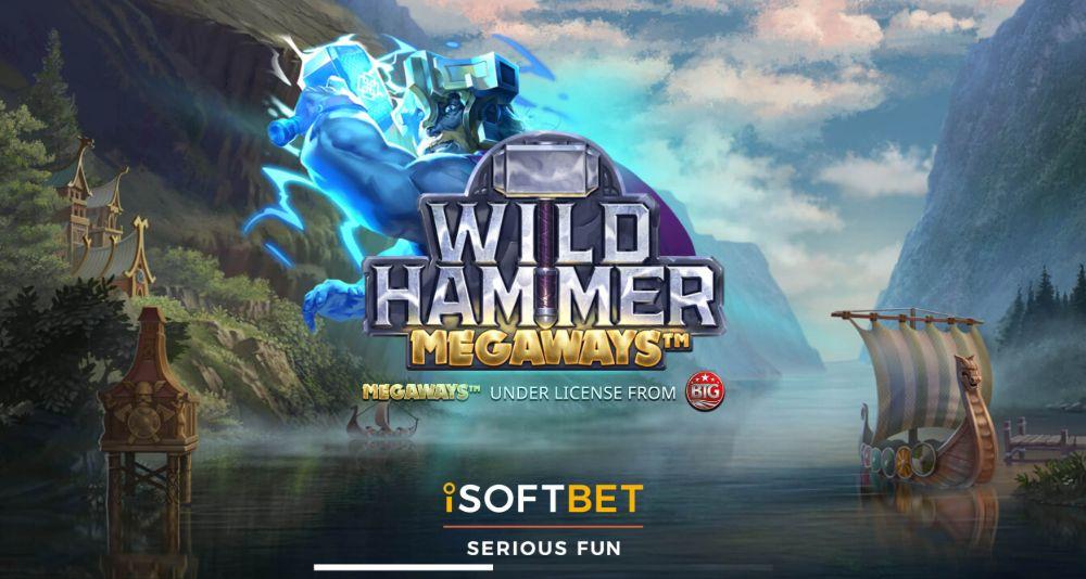 wild hammer megaways slot by isoftbet