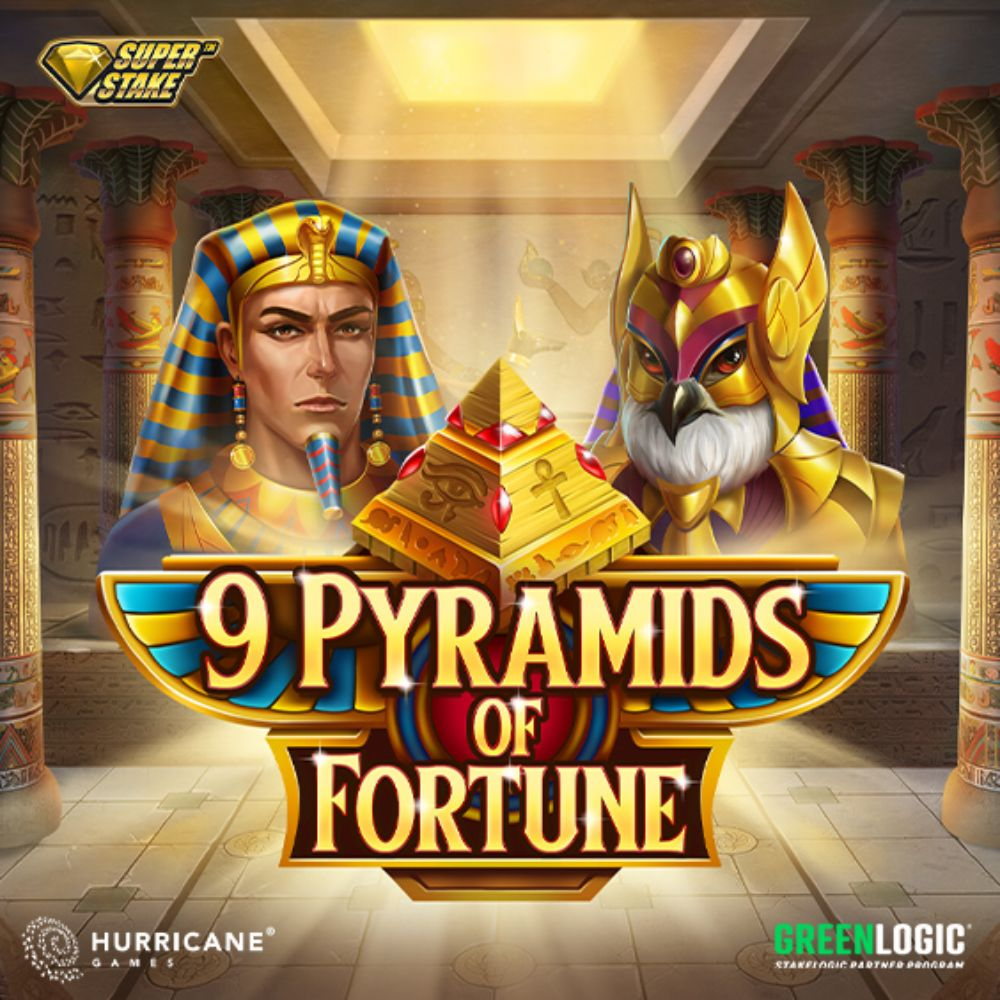 9 Pyramids of Fortune Slot by stakelogic