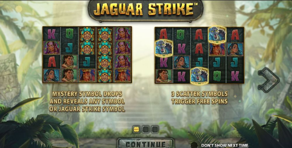 jaguar strike slot by stakelogic