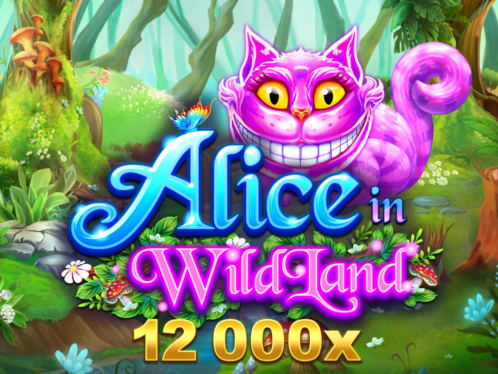 alice in wildland slot by microgaming
