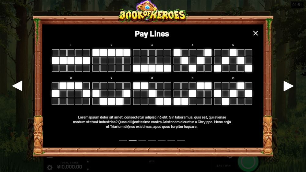 book of heros slot by microgaming
