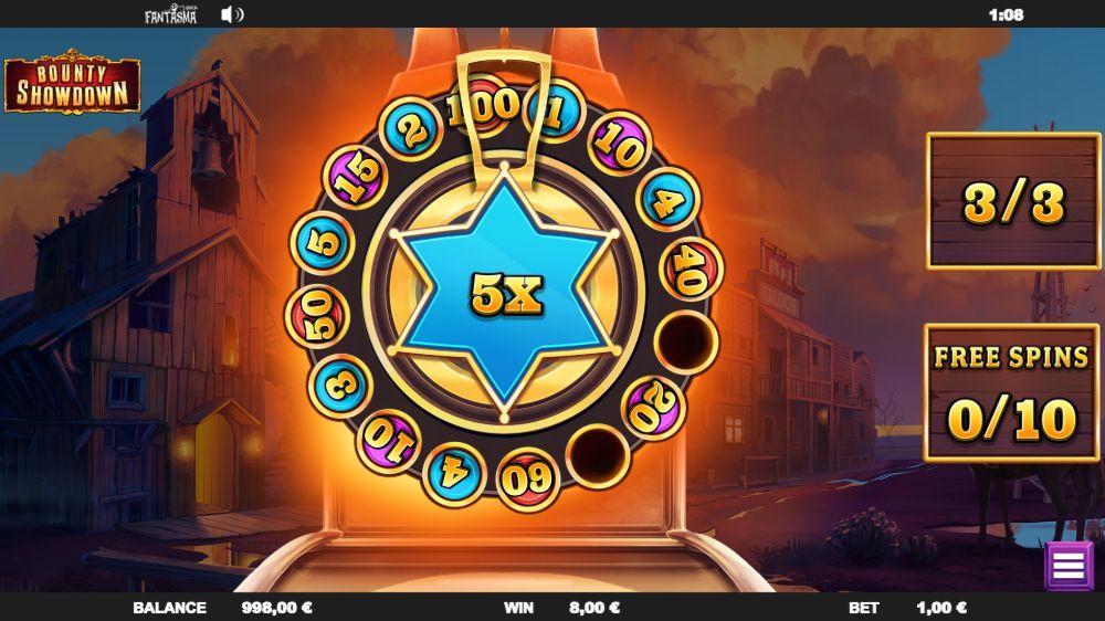bounty showdown slot by relax gaming