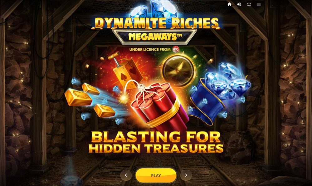 dynamite riches megaways slot by red tiger gaming