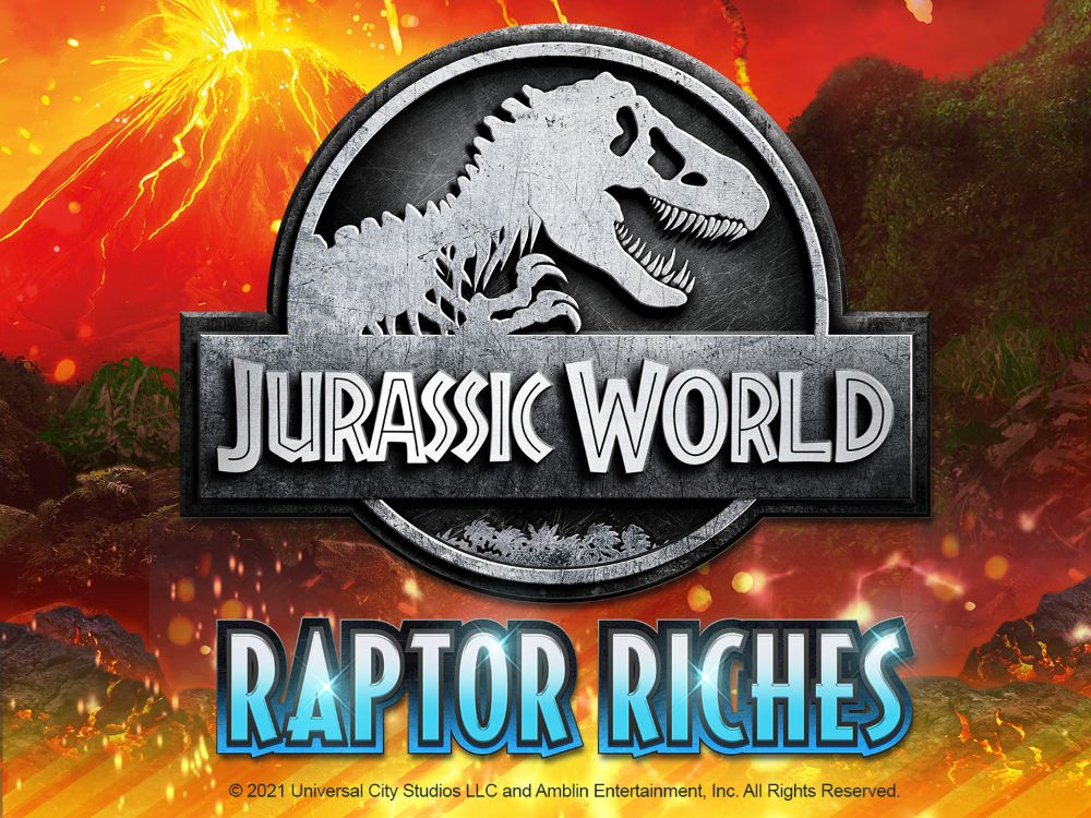 jurassic worl raptor riches slot by microgaming