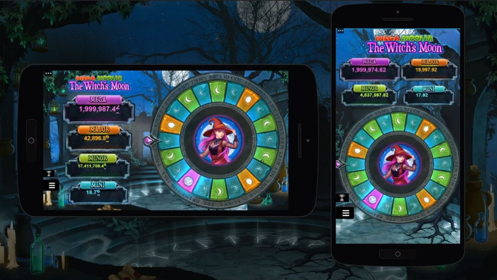 mega moolah the witches moon slot by microgaming