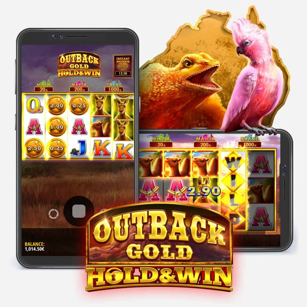 outback gold hold & win