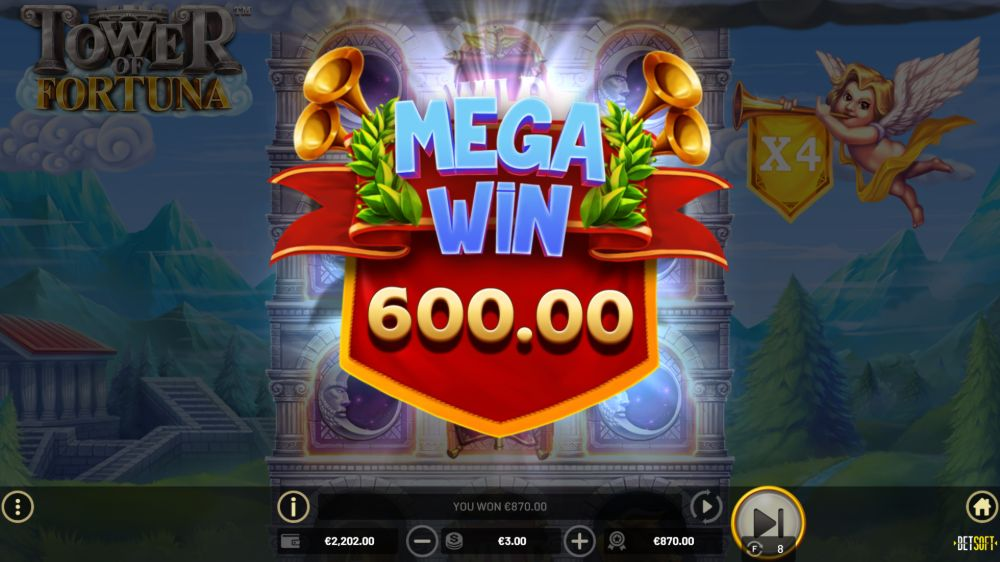 tower of fortuna slot by betsoft