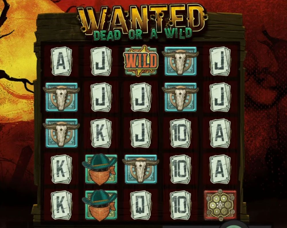 wanted dead or wild slot