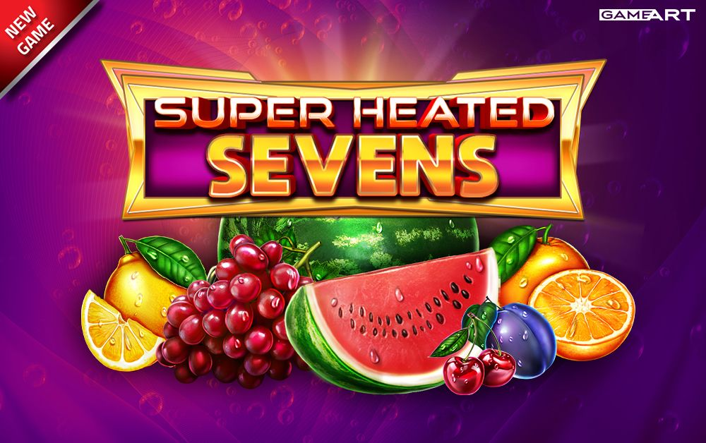 Super Heated Sevens Slot by gameart