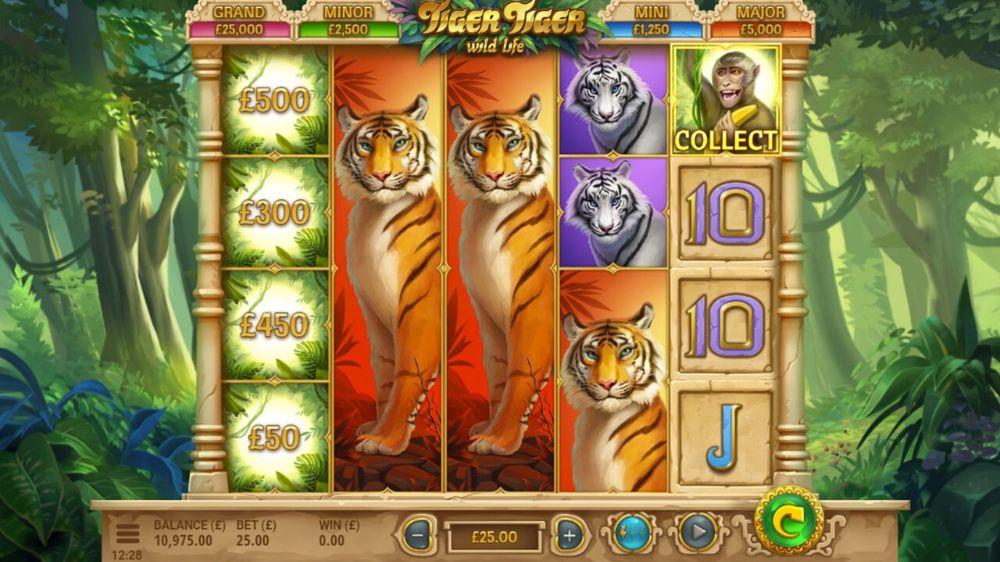 Tiger Tiger Slot by yggdrasil