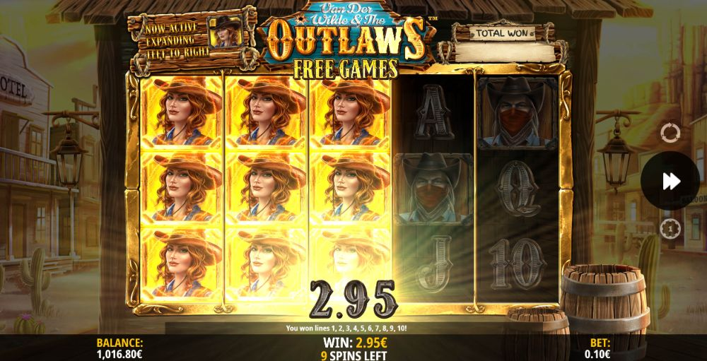 Van Der Wilde & The Outlaws Slot by isoftbet