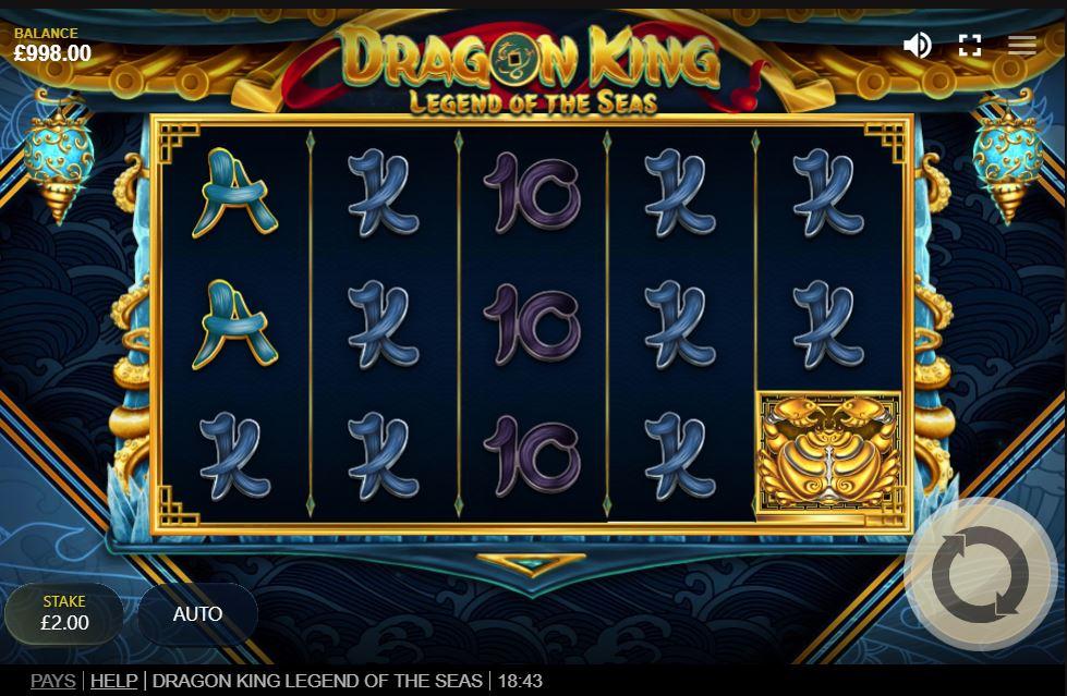 dragon king legend of the seas slot