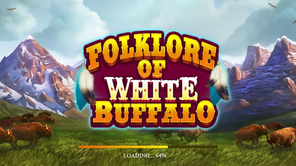 folklore of white buffalo slot by7 microgaming
