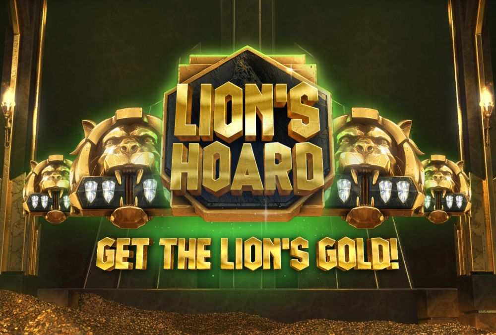 lions hoard slot by red tiger gaming