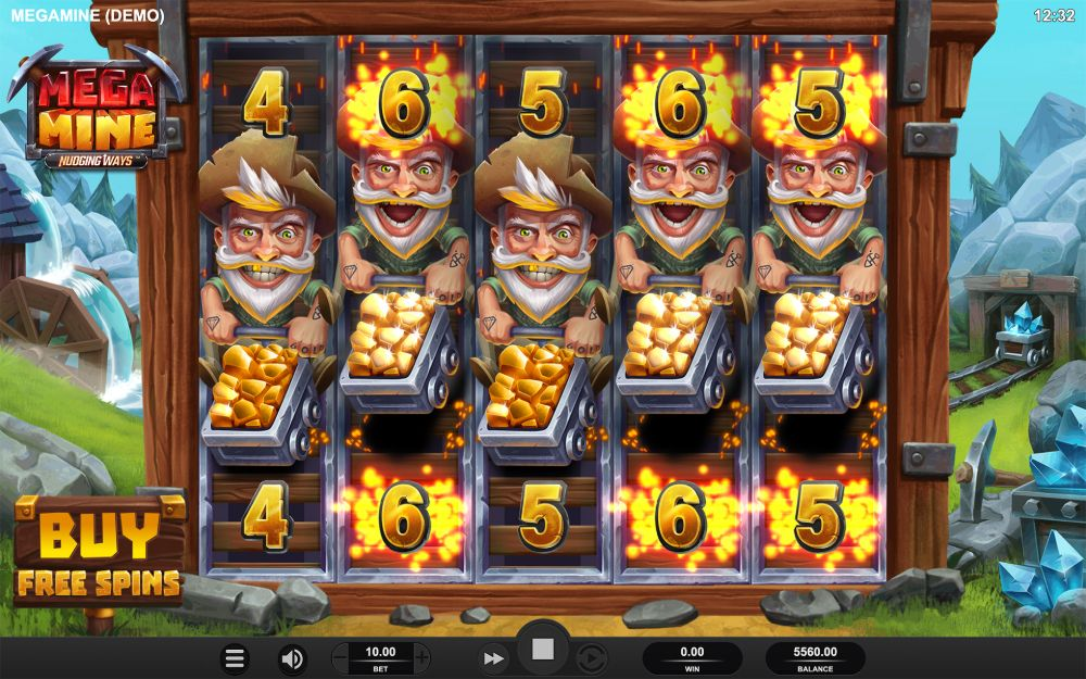 mega mine slot by relax gaming